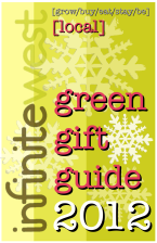 2012 Green Gift Guide Poster